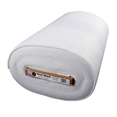 "Heat'n Bond Fleece Fusible - High Loft White 45"" D/F 22.5"" x 15 yards per bolt"