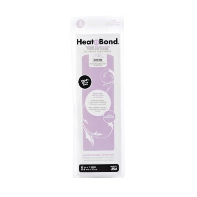 Heat'n Bond Q2134 Non-Woven Craft Fusible - Extra Firm White