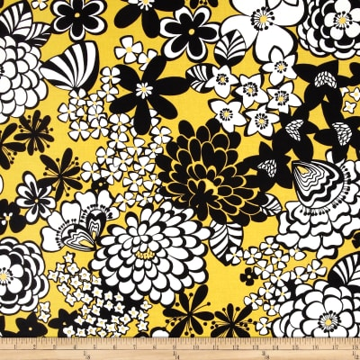 Stachi Floral Yellow