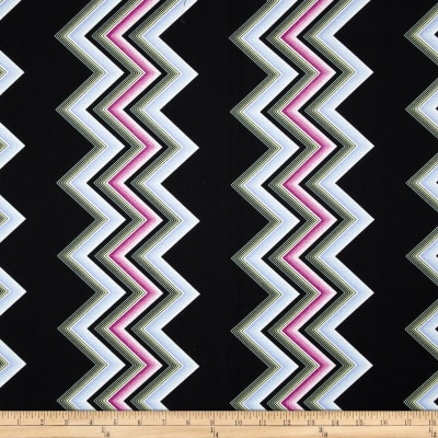 Modern Age Large Chevron Plum