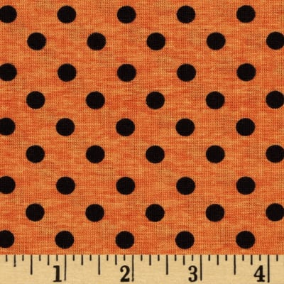 Spooky Spectacular Dots Orange