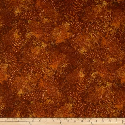 Moda Modascapes Fossil Leaves Russet