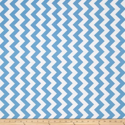 Riley Blake Medium Chevron Blue