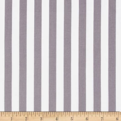 "Riley Blake 1/2"" Stripe Grey"