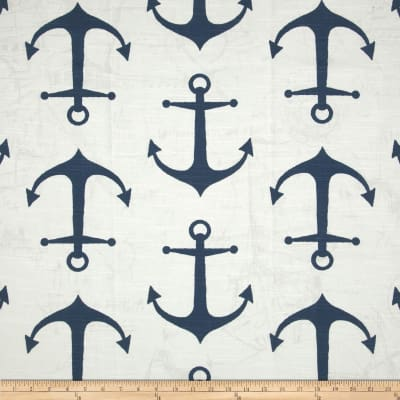 Premier Prints Anchor Slub Navy