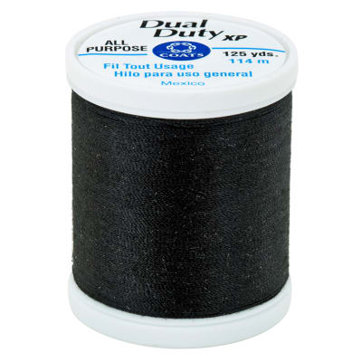 Coats & Clark Dual Duty XP 125yd Celestial Black