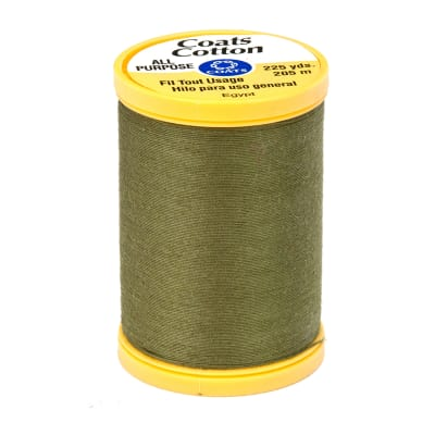 Coats & Clark General Purpose Cotton 225 YD Bronze Green
