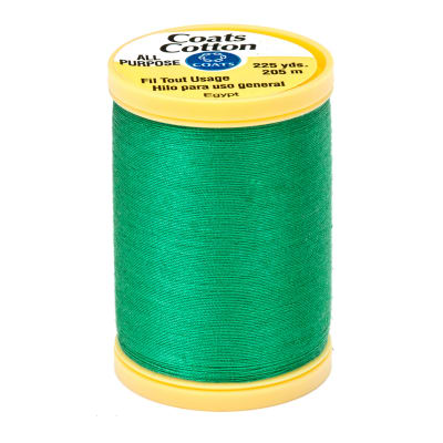 Coats & Clark General Purpose Cotton 225 yd. Kerry Green