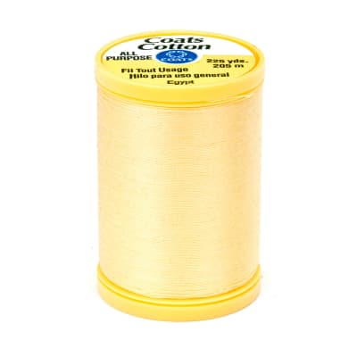 Coats & Clark General Purpose Cotton 225 yd. Yellow
