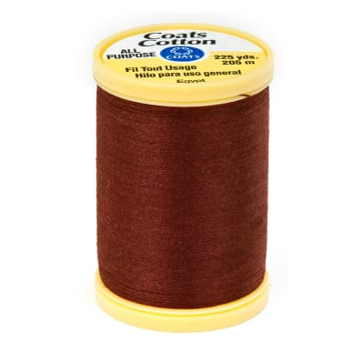 Coats & Clark General Purpose Cotton 225 yd. Rum Raisin