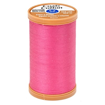 Coats & Clark Machine Quilting Cotton Thread 350 yd. Hot Pink