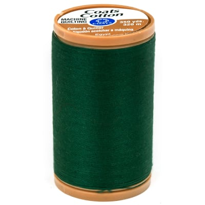 Coats & Clark Machine Quilting Cotton Thread 350 yd. Forest Green