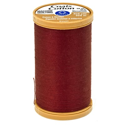 Coats & Clark Machine Quilting Cotton Thread 350 yd. Rum Raisin