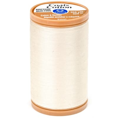 Coats & Clark Machine Quilting Cotton Thread 350 yd. Cream
