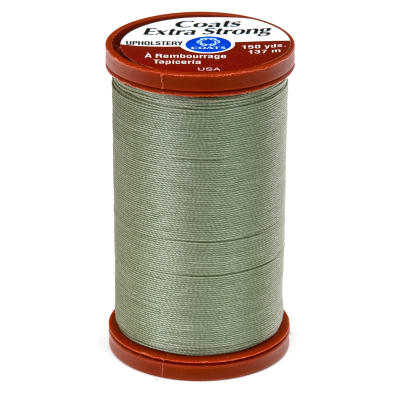 Coats & Clark Specialty Thread Upholstery 150yds Green Linen