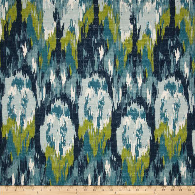 Premier Prints Ikat Craze Birch Frost Barkcloth