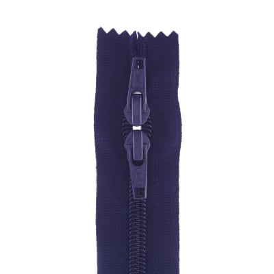 "Purse Zipper 22"" Navy"