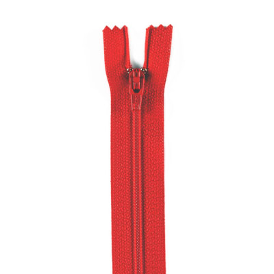 "Coats & Clark Poly All Purpose Zipper 6"" Atom Red"