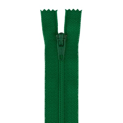 "Coats & Clark Poly All Purpose Zipper 9"" Kerry Green"