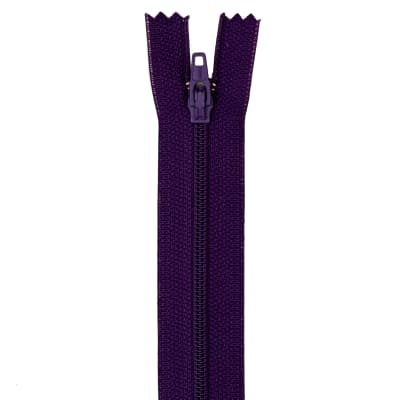 "Coats & Clark Poly All Purpose Zipper 12"" Purple"