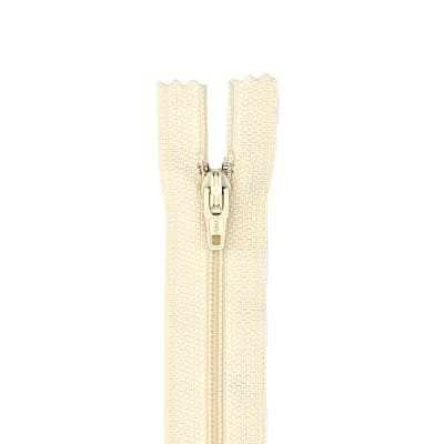 "Coats & Clark Poly All Purpose Zipper 12"" Natural"
