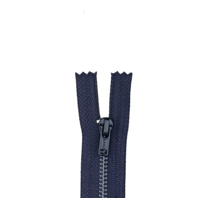 "Metal All Purpose Zipper 9"" Navy"