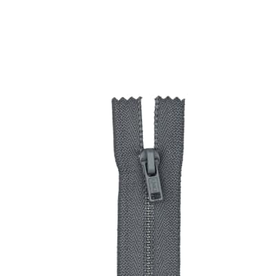 "Metal All Purpose Zipper 9"" Slate"