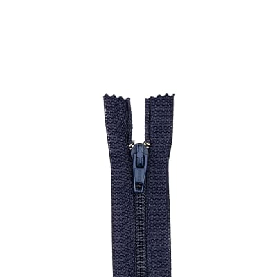 "Trouser Zipper 11"" Navy"