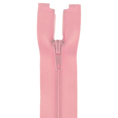"Coats & Clark Coil Separating Zipper 14"" Light Pink"