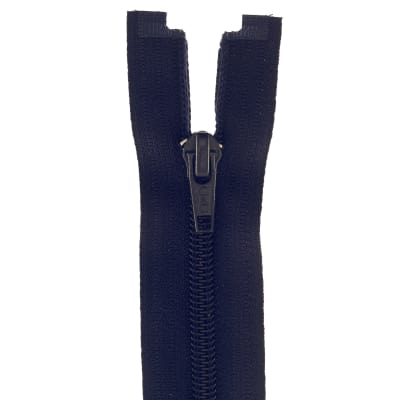 "Coats & Clark Coil Separating Zipper 18"" Navy"