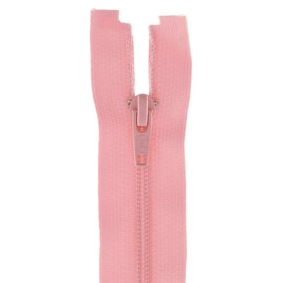 "Coats & Clark Coil Separating Zipper 22"" Light Pink"