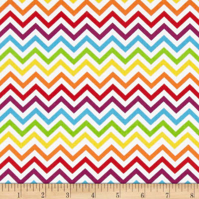Ups & Downs Chevron White/Multi