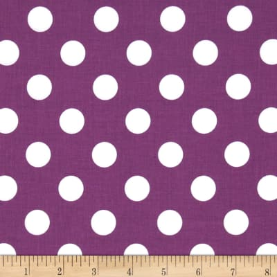 Riley Blake Medium Dots Purple