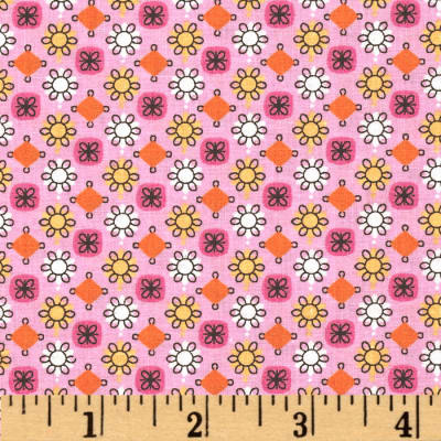 Tossed Tiny Floral Pink/Multi