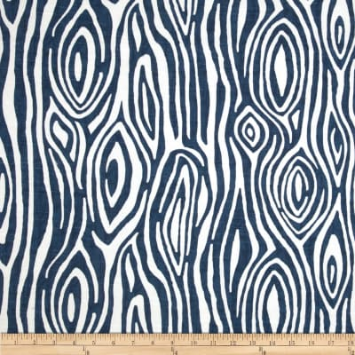 Premier Prints Willow Slub Premier Navy