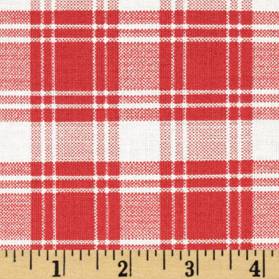 Williamsburg Hennessy Plaid Red/Grey
