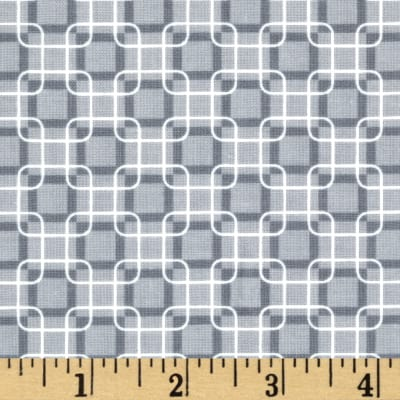 Rubies Geometric Grey