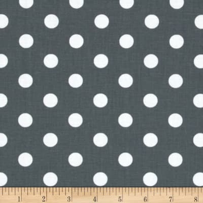 Spot On II Polka Dots Grey/White