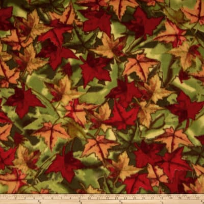 Winter Fleece Foliage Multi
