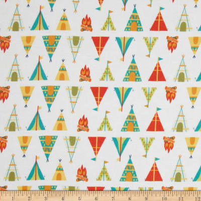 Happy Camper Teepees+ Tents White