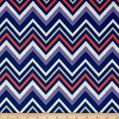 Paisley Please Chevron and On Navy/Multi