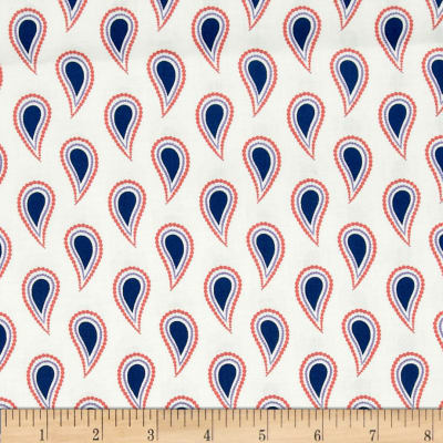 Paisley Please Solid Paisley White