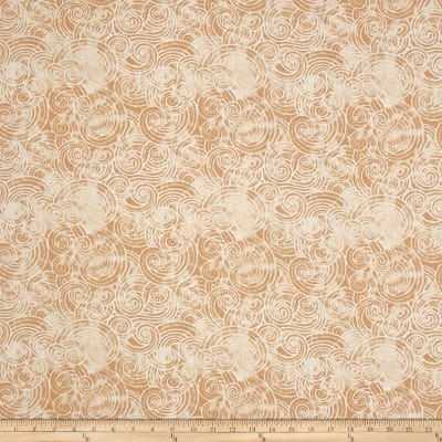 "Essential Dotty Waves 108"" Wide Quilt Back Ivory"