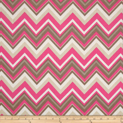 Bright Now Chevron White/Pink