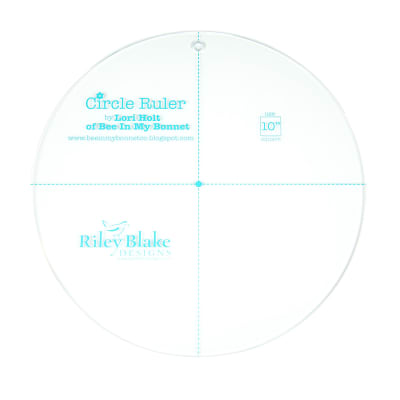 Lori Holt Circle Ruler 9