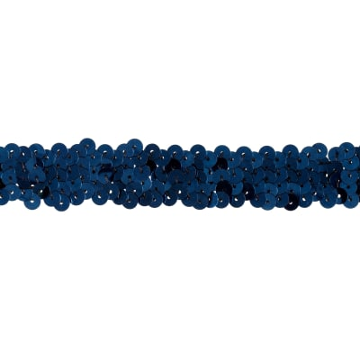 Team Spirit 3/4'' #30 Sequin Trim Navy