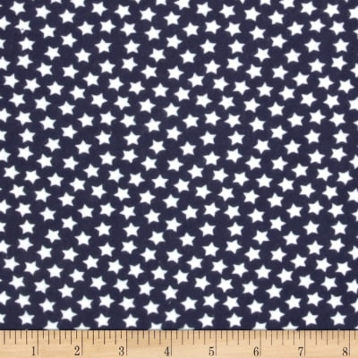 Flannel Stars Navy