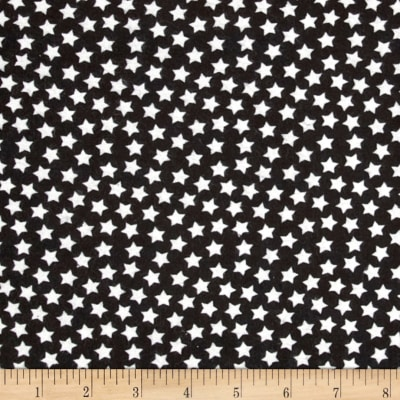 Flannel Stars Black