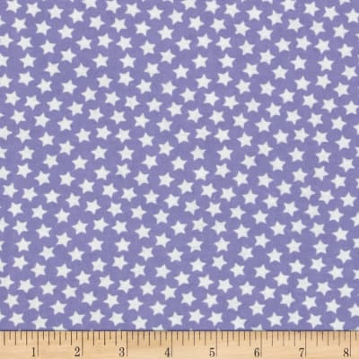 Camelot Flannel Stars Periwinkle