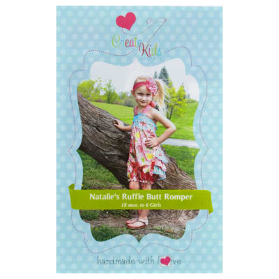 Create Kid's Couture Natalie's Romper Pattern